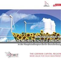 Innovationen im Branchenkompetenzfeld Energie
