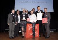"""Dritter Platz für REHA VITA im bundesweiten Wettbewerb """"Beste Arbeitgeber im Gesundheitswesen 2012"""""""