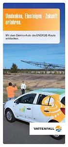 Mit dem Elektro-Auto die ENERGIE-Route entdecken.