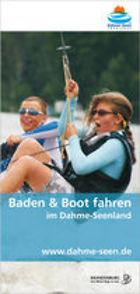 Baden und Boot fahren im Dahme-Seenland