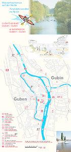 Wassertourismus auf der Neiße - In der Eurostadt Guben - Gubin